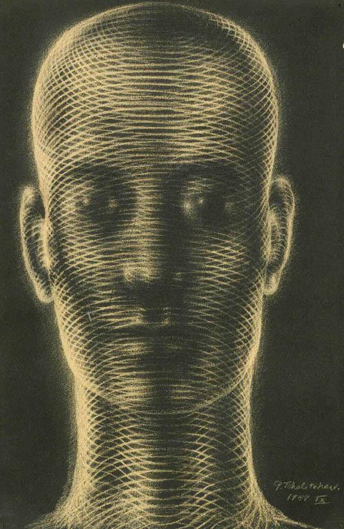 Spiral Head (IX) 1949