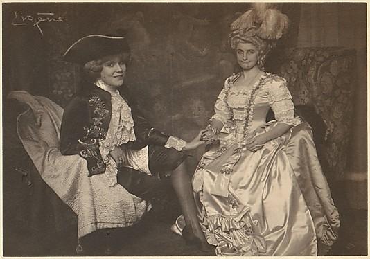 The Baronin B. and Miss M. - Rosenkavalier 1900s
